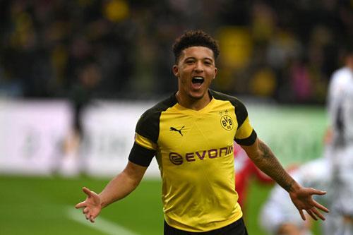 8. Jadon Sancho (Dortmund - Giá trị chuyển nhượng: 117 triệu euro).