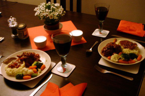 Ăn tối với chồng cũ