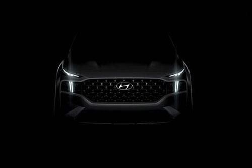 Hyundai Santa Fe 2021 hé lộ hình ảnh siêu đẹp khiến fan 'phát sốt', đấu Toyota Fortuner, Ford Everest