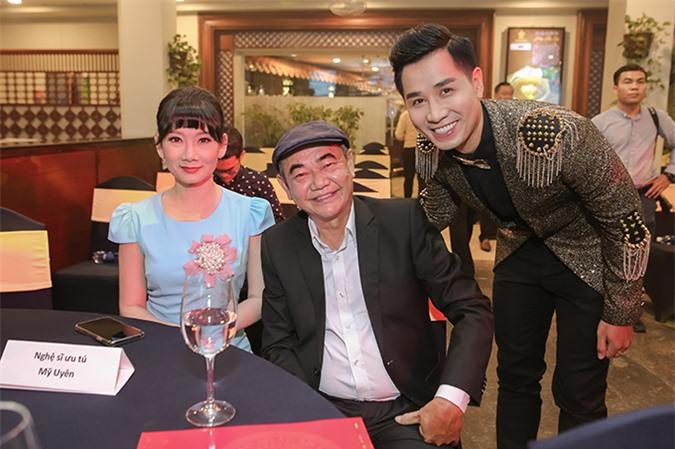 Diễn viên Mỹ Uyên, Việt Anh là hai trong số các nghệ sĩ đảm nhận vai trò trao giải.