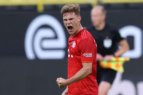 Ghi siêu phẩm vào lưới Dortmund, Kimmich khẳng định 'đã tính trước từ lâu'
