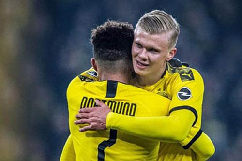 Dortmund hoang mang vì chấn thương của Haaland