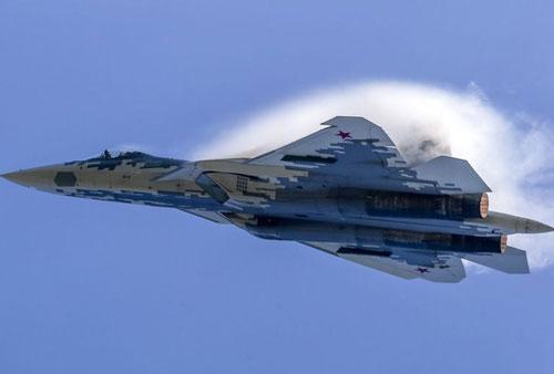 Tiêm kích tàng hình Su-57 của Nga