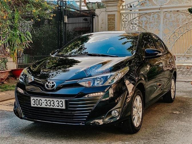 Mua Toyota Vios trúng biển ngũ quý 3, sang tên lãi ngay 1 tỷ