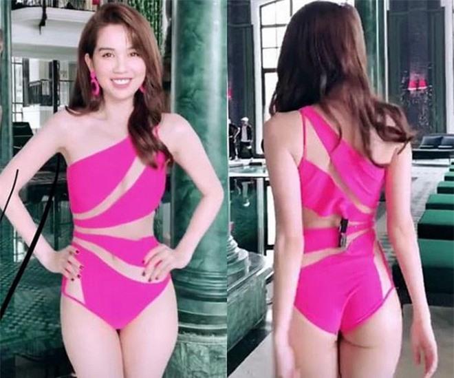 sao Việt dùng kẹp giấy vì quần áo quá rộng 3