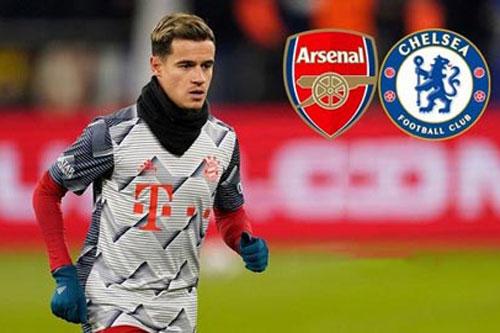 Muốn mượn Coutinho, Arsenal và Chelsea sẽ phải tốn bao nhiêu?