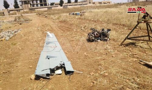 UAV đắt nhất của Thổ Nhĩ Kỳ bị Quân đội Syria bắn hạ