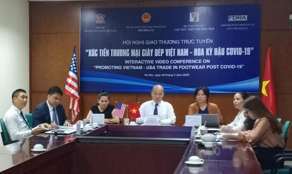 Hỗ trợ DN giày dép Việt Nam - Hoa Kỳ kết nối, cùng vượt khó