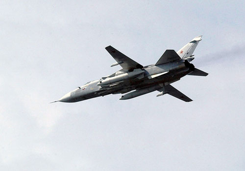Máy bay SU-24 của Nga. (Nguồn: Wikipedia)