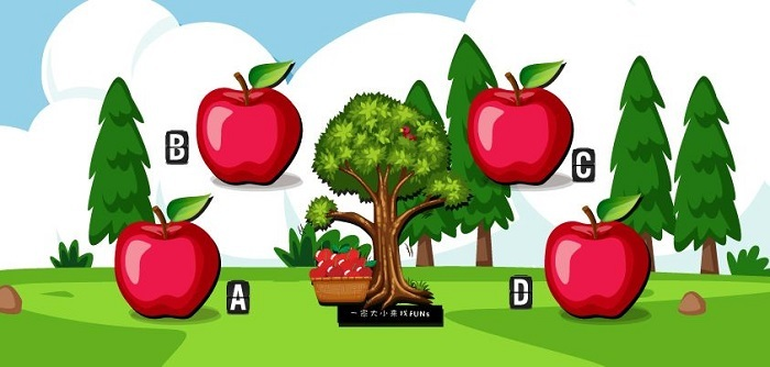 Bạn nghĩ quả táo nào ngọt nhất?