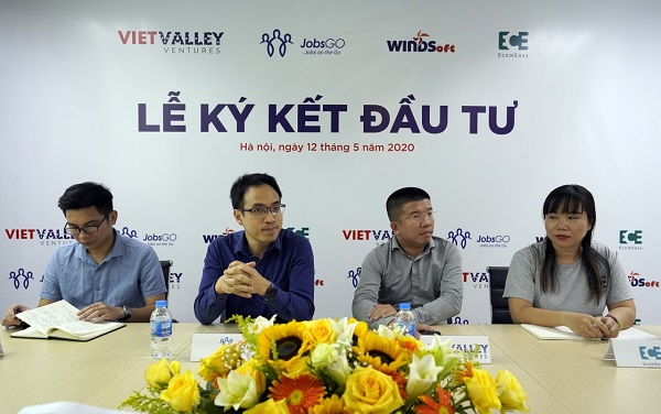 Ba startup JobsGO, EcomEasy, Windsoft được rót vốn từ Quỹ đầu tư mạo hiểm Thung lũng Việt