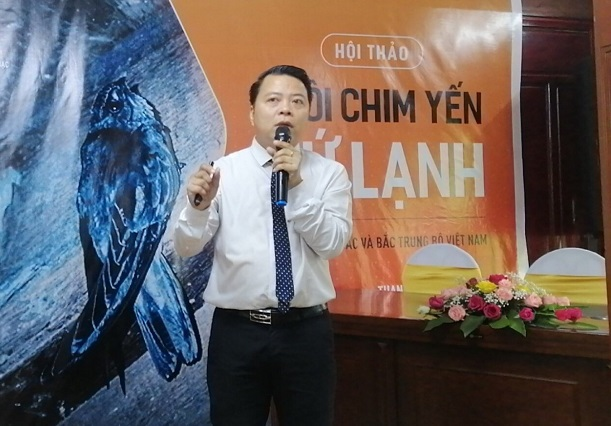 Ông Phạm Duy Khiêm - Chủ tịch Hội yến sào tỉnh Phú Yên.