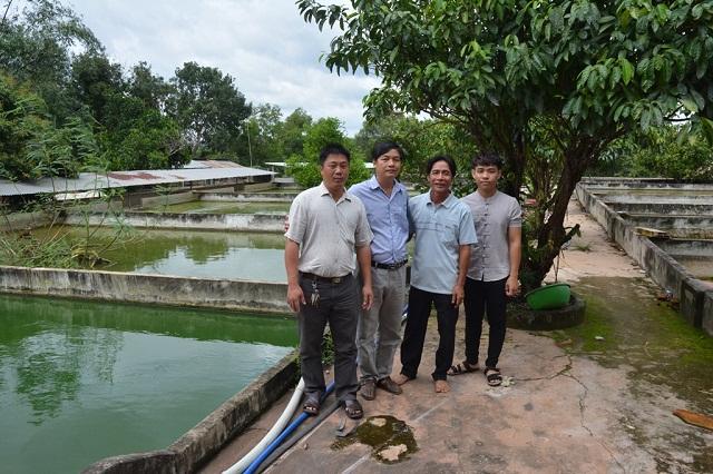Các thành viên HTX Tân Hòa hiện nuôi khoảng 40.000 con ba ba thương phẩm (Ảnh: TL)