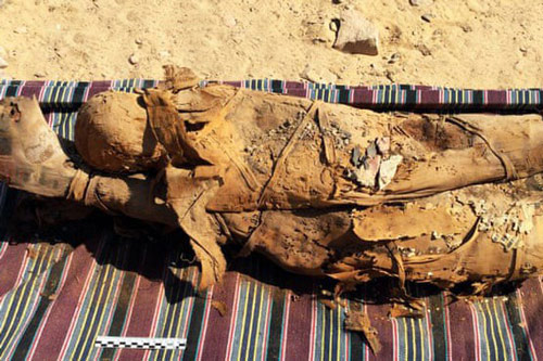 35 xác ướp Ai Cập được tìm thấy ở Aswan