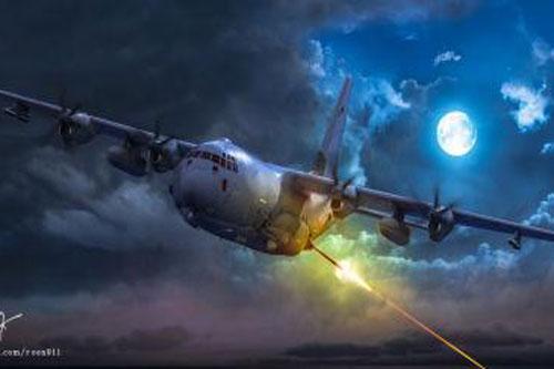 Mỹ biến AC-130J thành máy bay đánh chặn