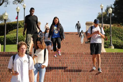 Chính phủ Mỹ lên kế hoạch hạn chế du học sinh Trung Quốc. (Nguồn Reuters)