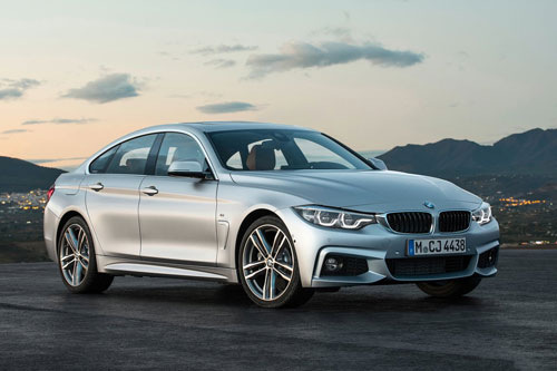 10. BMW 4 Series Gran Coupe (giá: 44.750-53.150 USD).