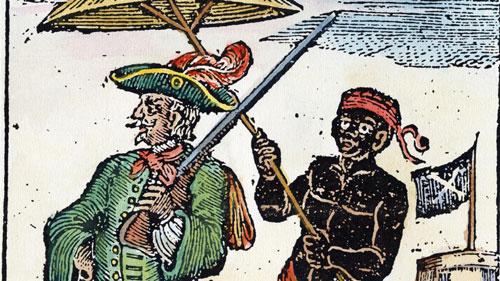 Every đã trở nên nổi tiếng trong giới cướp biển sau khi chiếm được kho báu khổng lồ trên Ganj-i-Sawai. Ảnh: Alamy.