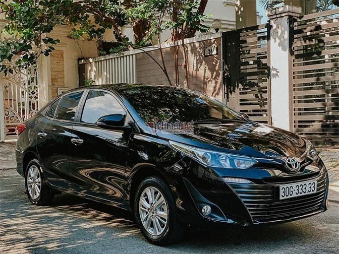 Toyota Vios trúng biển ngũ quý 3.