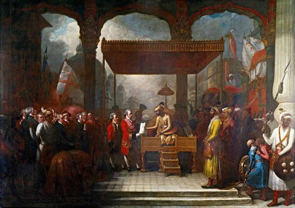 Công ty Đông Ấn đã góp phần không nhỏ vào công cuộc chinh phục Ấn Độ của đế chế Anh. Ảnh: Thư viện Anh.