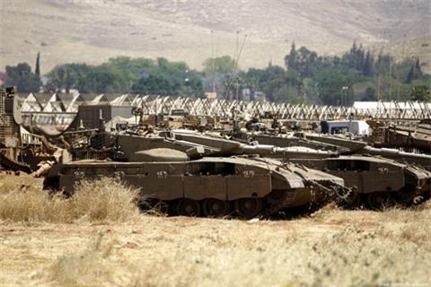Israel thach Jordan tuyen chien va...hung chiu hau qua