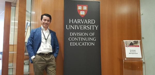 Ông Nguyễn Tiến Dũng – CEO Trường Doanh nhân HBR