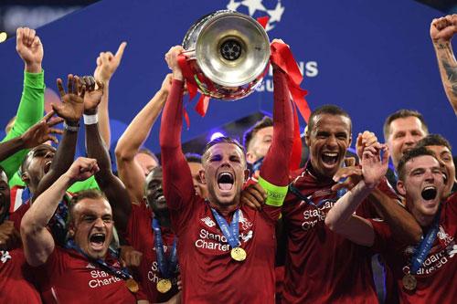 Liverpool đang là đương kim vô địch Champions League.