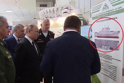 """Nga bị cáo buộc """"ăn cắp thiết kế"""" tàu Mistral"""