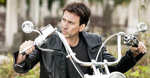 Nicolas Cage nổi tiếng là dân chơi xe hạng nặng.