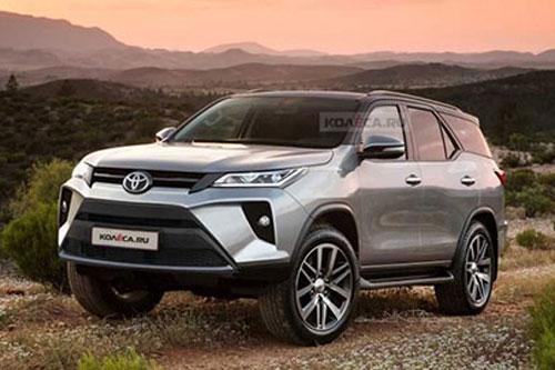 Toyota Fortuner 2021 kiểu dáng hầm hố sắp về VN, giá 'ngon' đe nẹt Hyundai Santa Fe, Ford Everest