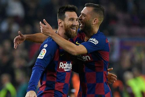 Alba: 'Nhiệt huyết của Messi truyền cảm hứng cho đồng đội'