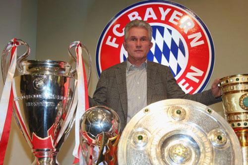 7. Jupp Heynckes (Real Madrid, Bayern Munich - Tỷ lệ chiến thắng: 70%, vô địch 2 lần).