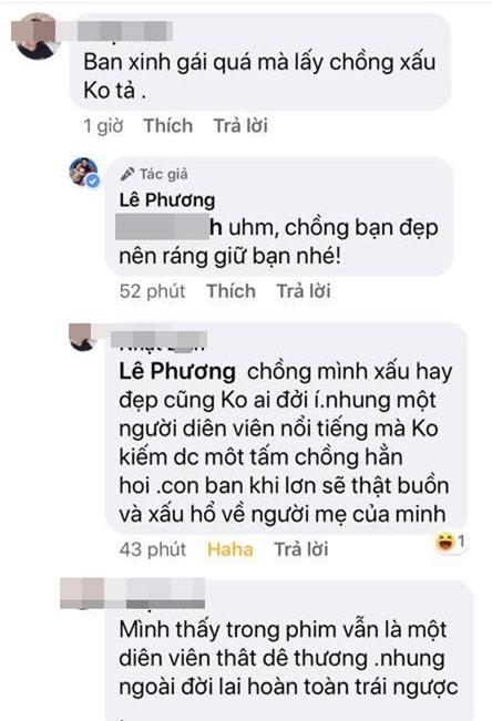 dien vien le phuong dap tra 1
