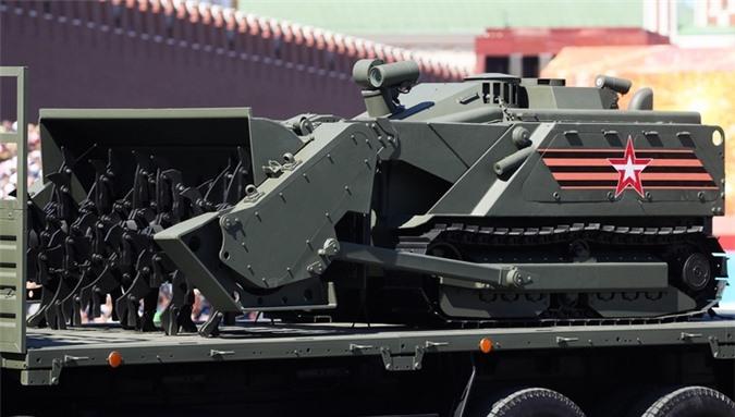 Quân đội Nga sẽ được trang bị thêm robot chiến đấu 'siêu khủng'