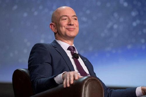 Tỷ phú Jeff Bezos (Ảnh: Bloomberg)