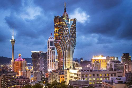 Ngắm tòa nhà cao nhất Macau của 'vua sòng bạc' Hà Hồng Sân