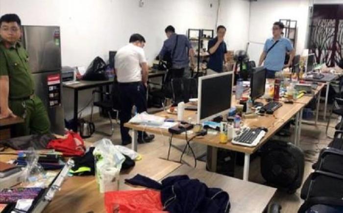 """Cơ quan CSĐT thu giữ nhiều máy tính tại đường dây đánh bạc qua mạng Internet """"Nổ hũ"""" lớn nhất từ trước đến nay."""
