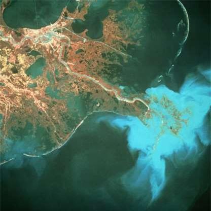 Châu thổ sông Mississippi ở Mỹ./.
