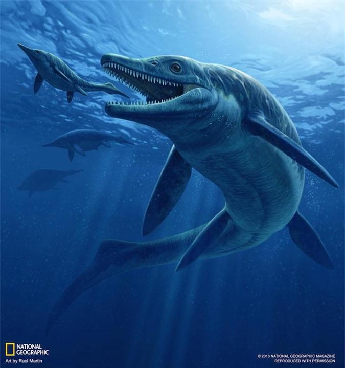 Quái vật trong quái vật ngư long 246 triệu tuổi  hiện hình trên núi đá - Ảnh 1.
