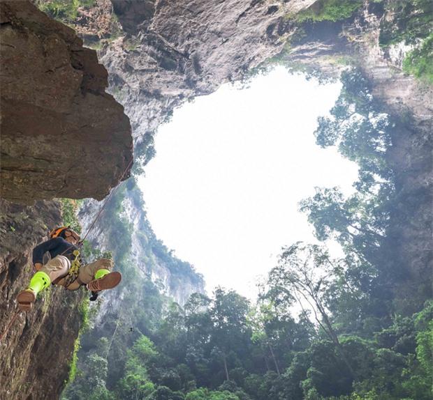 Hình ảnh tuyệt đẹp được các nhà thám hiểm ghi lại.