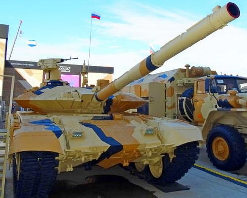 Nga tuyên bố T-90MS là xe tăng xuất khẩu tốt nhất thế giới