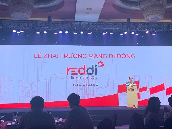 Mạng di động ảo Redi chính thức khai trương từ ngày 3/6/2020.