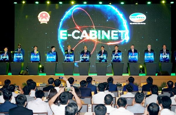 Chính phủ có thể họp hoàn toàn phi giấy tờ với Viettel e-Cabinet.