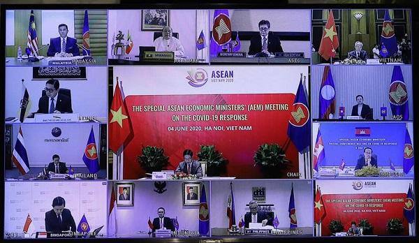 Hội nghị Bộ trưởng Kinh tế ASEAN thông qua Kế hoạch Hành động Hà Nội