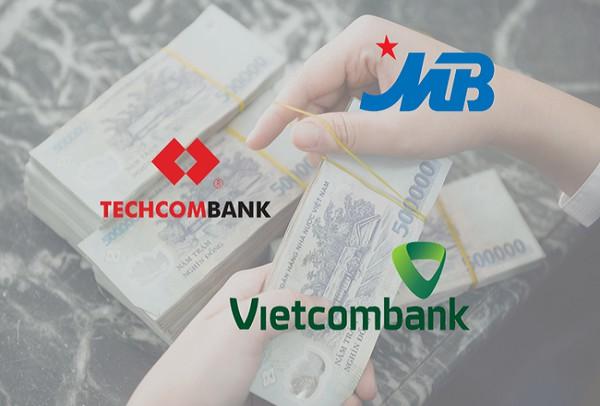 Quý 1/2020, tiền gửi không kỳ hạn của MBBank, Vietcombank và Techcombank biến động ra sao?