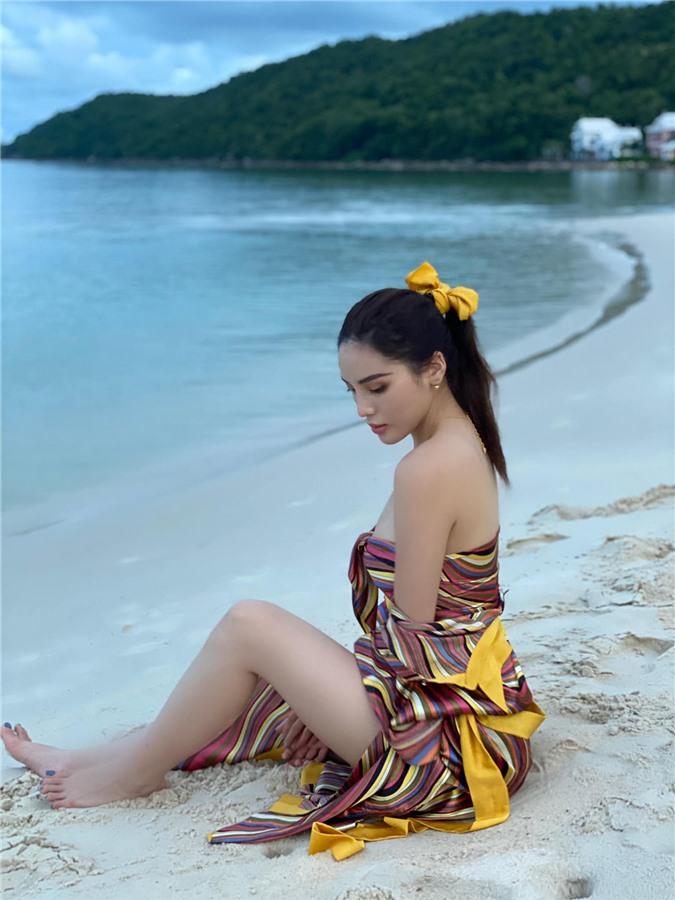 Hoa hậu Kỳ Duyên gợi cảm sau nỗ lực giảm cân - Ảnh 3.
