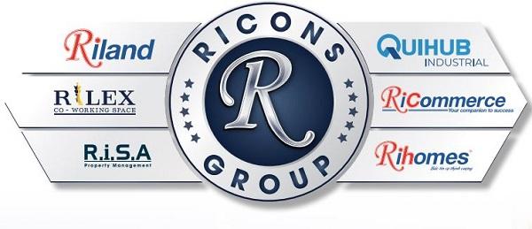 Hệ sinh thái Ricons Group (Ảnh: Ricons)