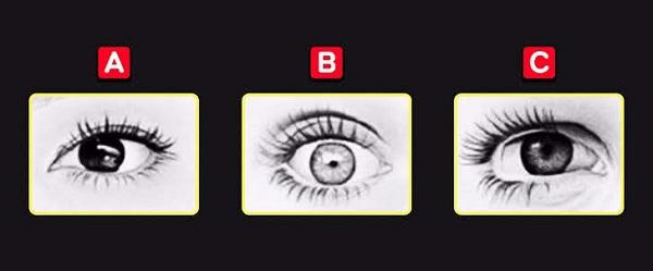 Bạn chọn con mắt nào?