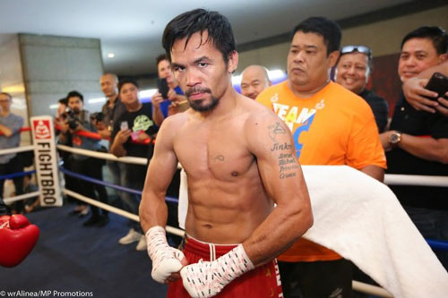 2. Manny Pacquiao (Philippines - Thắng 62, hòa 7, thua 2).