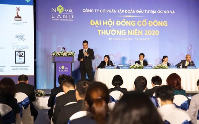 Đại hội cổ đông Novaland vào sáng 5/6/2020 tại TP.HCM.